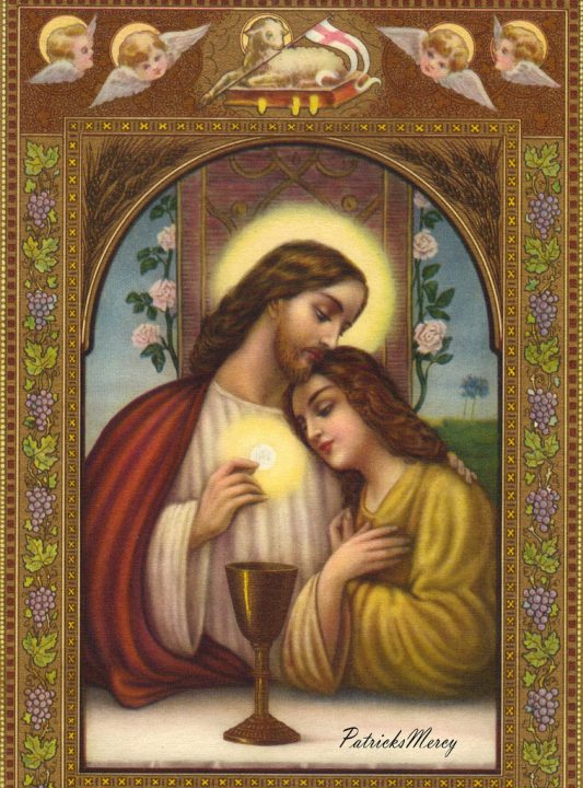 Jesus and his Mary by Patricks Merey